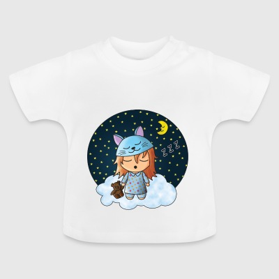 Sovende pige. - Baby T-shirt