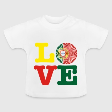 PORTUGAL HERZ - Baby T-Shirt