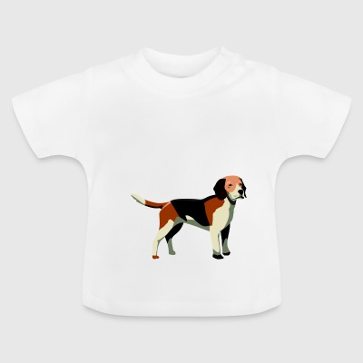 Hond, woef woef '1 - Baby T-shirt