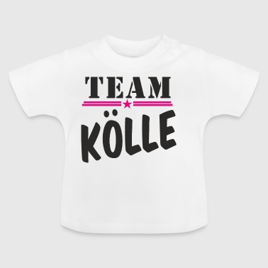 TeamKoelle black - Baby T-Shirt