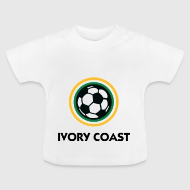 Ivory Coast Football - Baby T-Shirt