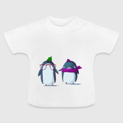 Lustiger Pinguin - Baby T-Shirt