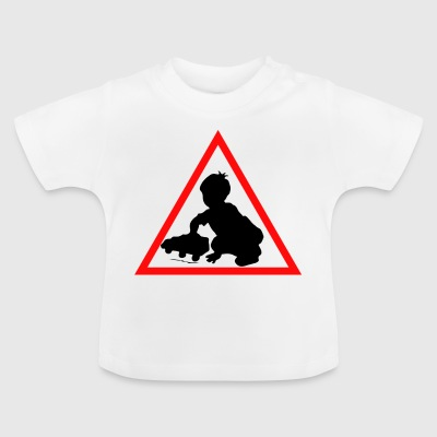 Attention baby - Baby T-Shirt