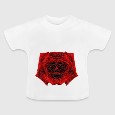 Spooky Crystal Rose - Baby T-shirt