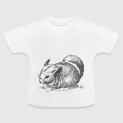 chinchilla - Camiseta bebé
