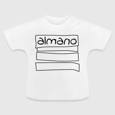 almanosketch - Baby-T-shirt