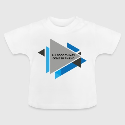triangles02 - Baby T-Shirt