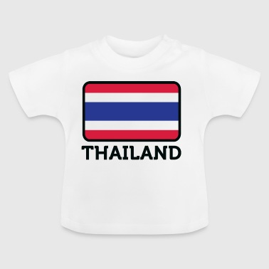 National Flag Of Thailand - Baby T-Shirt