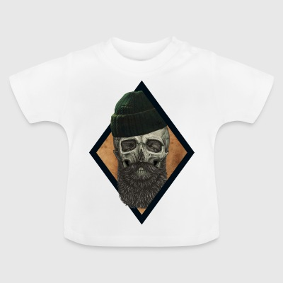 beard skull fisherman - Baby T-Shirt
