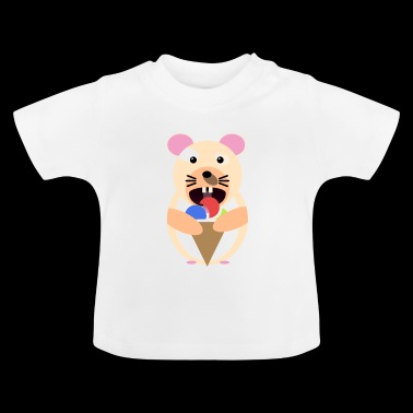 Icecream hamster - Baby T-Shirt