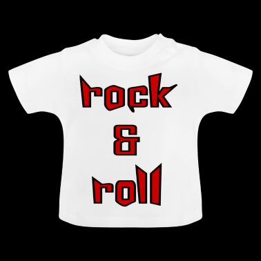 rock and roll - Camiseta bebé