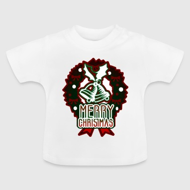 Merry Christmas Advent Bell Ring - Baby T-Shirt