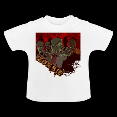 zombies - T-shirt Bébé