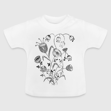 beautiful flowers for mother s day sw - Baby T-Shirt