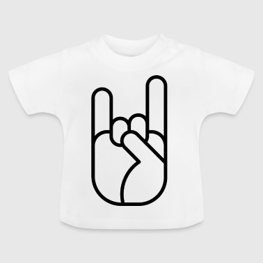Hand Sign 06 Gift love peace - Baby T-Shirt
