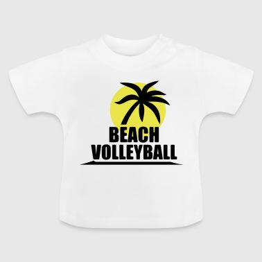 Volleyboll shirt - beachvolleyboll skjortan - Team - Baby-T-shirt
