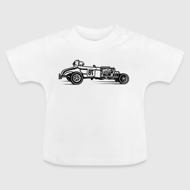 Hot Rod / Rat Rod 01_black - Baby T-Shirt