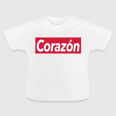 Corazon - heart - Baby T-Shirt