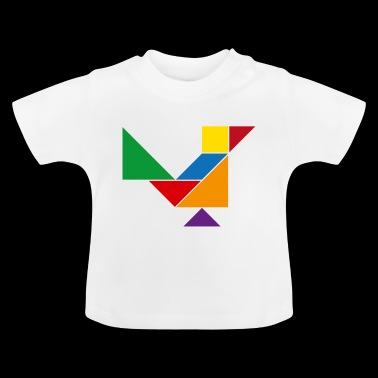 Tangram Bird - Baby T-Shirt