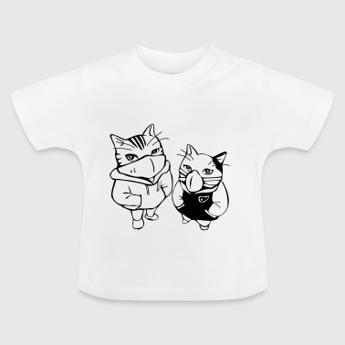 Pusses GANG - Baby-T-shirt