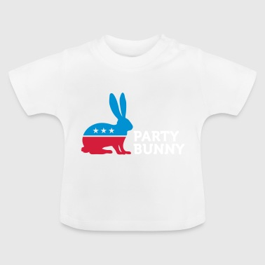 Political Party Animals: Bunny - Baby T-Shirt