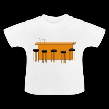 bar - T-shirt Bébé