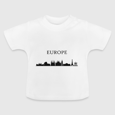 europe horizon - T-shirt Bébé