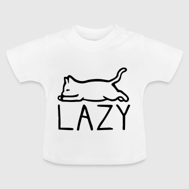 Lazy cat - Baby T-Shirt
