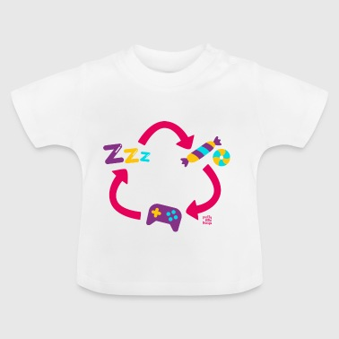 RePET snoep Sleper video game - Baby T-shirt