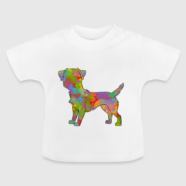 Border Terrier Multicolor - Baby T-shirt