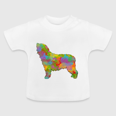 Spaanse Water Hond Multicolor - Baby T-shirt