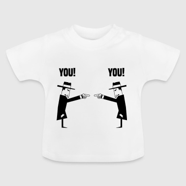 Spies med hat - Baby T-shirt