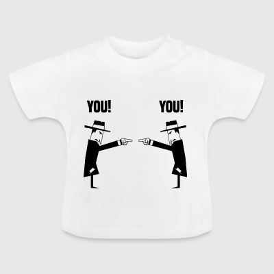 Spies with hat - Baby T-Shirt