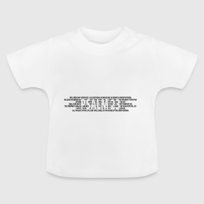 Psalm 23 Bible prayer Christians Bible verses - Baby T-Shirt