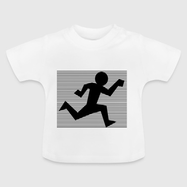 runner plazo jogging sprinter154 - Camiseta bebé