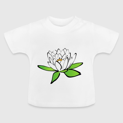 Lotus flower - Baby-T-shirt