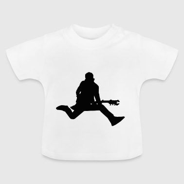 Man with guitar - Baby T-Shirt