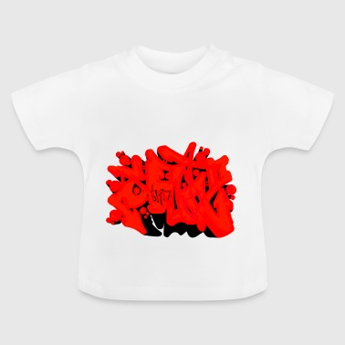 SAD Graffiti - Baby T-shirt