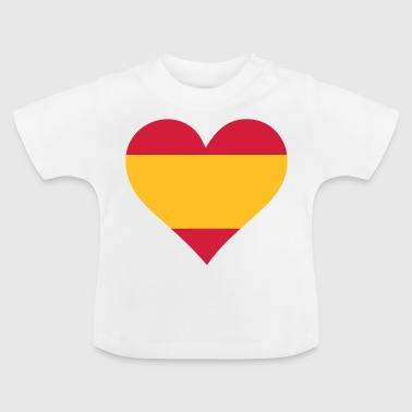 A Heart For Spain - Baby T-Shirt