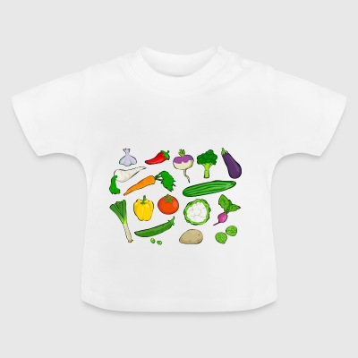 Shop Vegetables Baby Clothing Online Spreadshirt