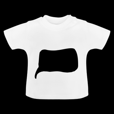 speech bubble - Baby T-Shirt