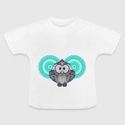 HEARTY HYPNOS OWL - Baby-T-shirt