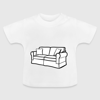 Couch - Baby T-Shirt