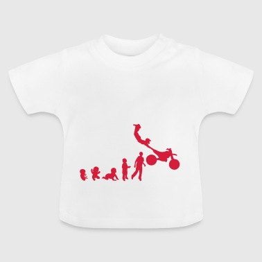 evolution freestyle 5 motocross motrocycle - Baby T-Shirt