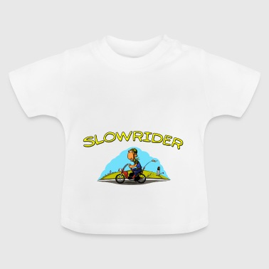 Slowrider Mofa Power Comicstyle - Baby T-Shirt