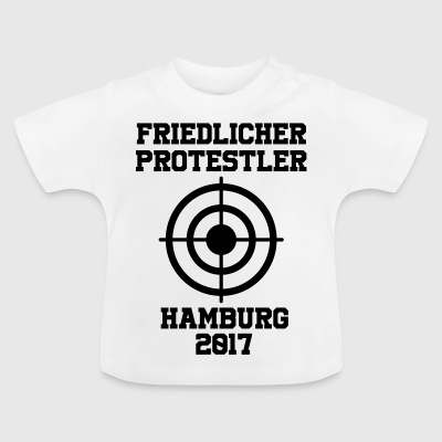 Peaceful Protestant Hamburg 2017 - Baby T-Shirt