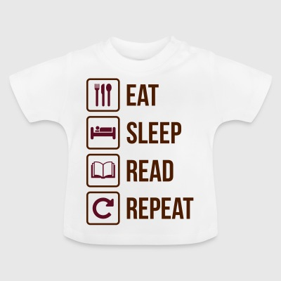 Eat Sleep Les Gjenta - Baby-T-skjorte