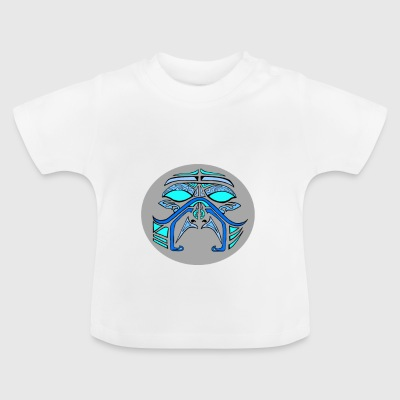 mask blue - T-shirt Bébé