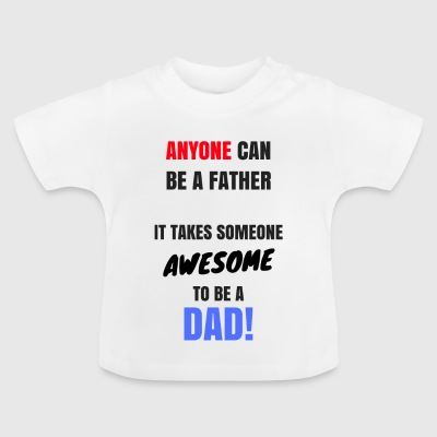 Awesome pappa - Baby-T-shirt