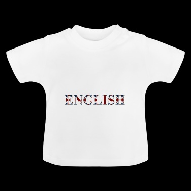 English word - Baby T-Shirt